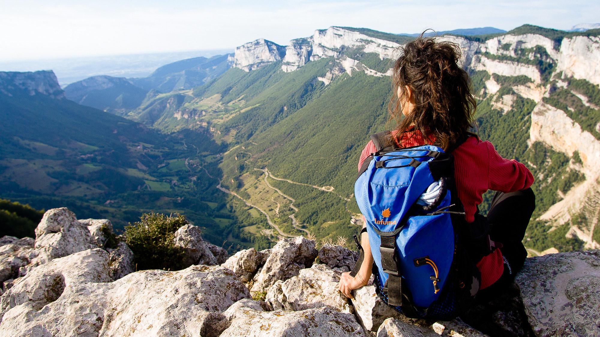 Belvédère de Révoulat, massif du Vercors - Lionel PASCALE - LADROME TOURISME