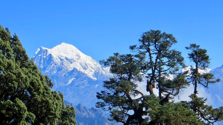 Le Langtang Lirung à 7246 m au Népal