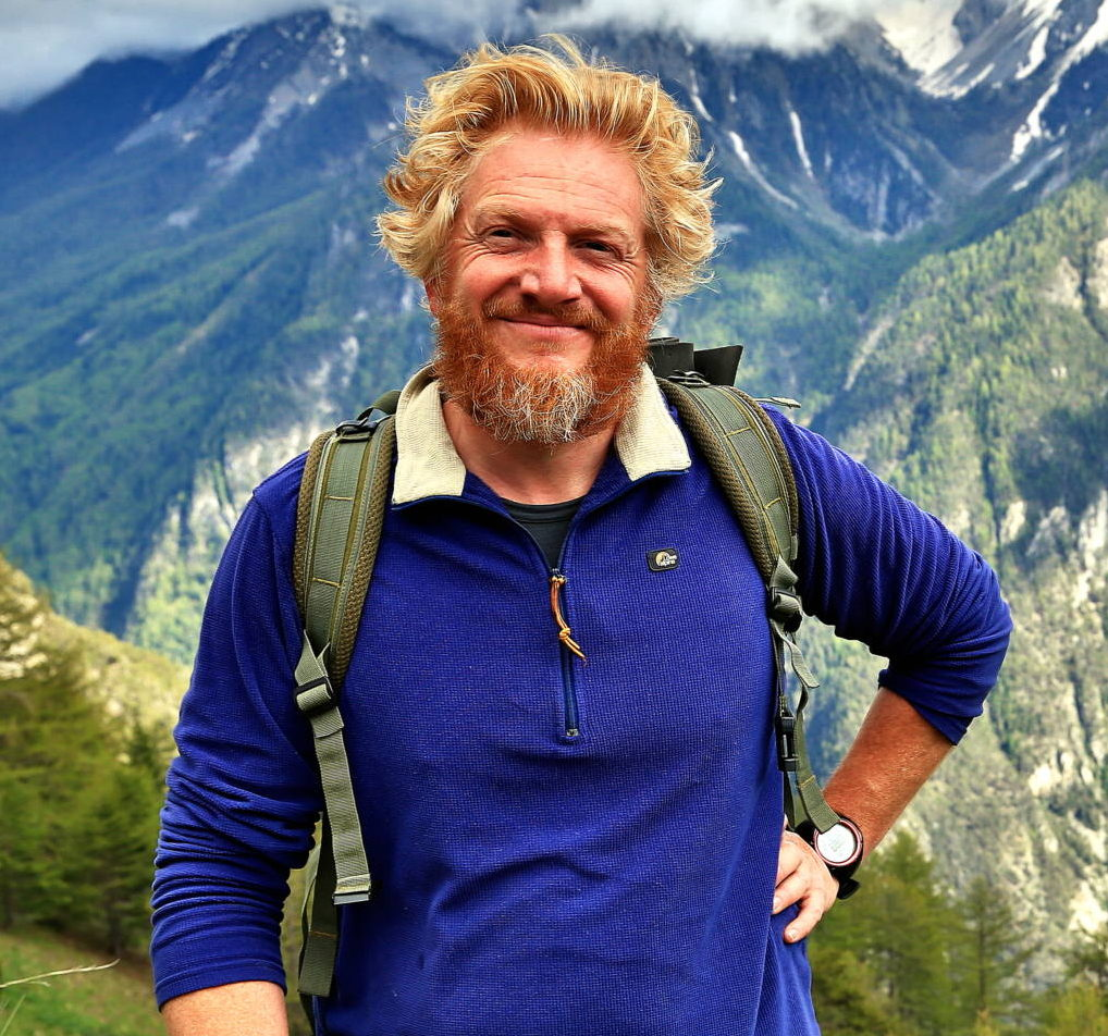 Luc Richard, guide de trek au Tibet