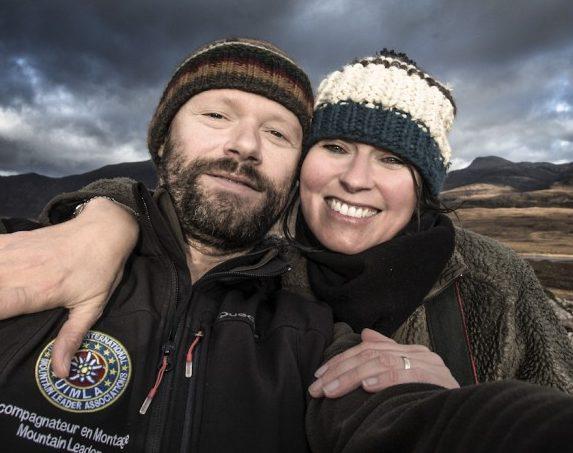 Sandrine et Matt Booth
