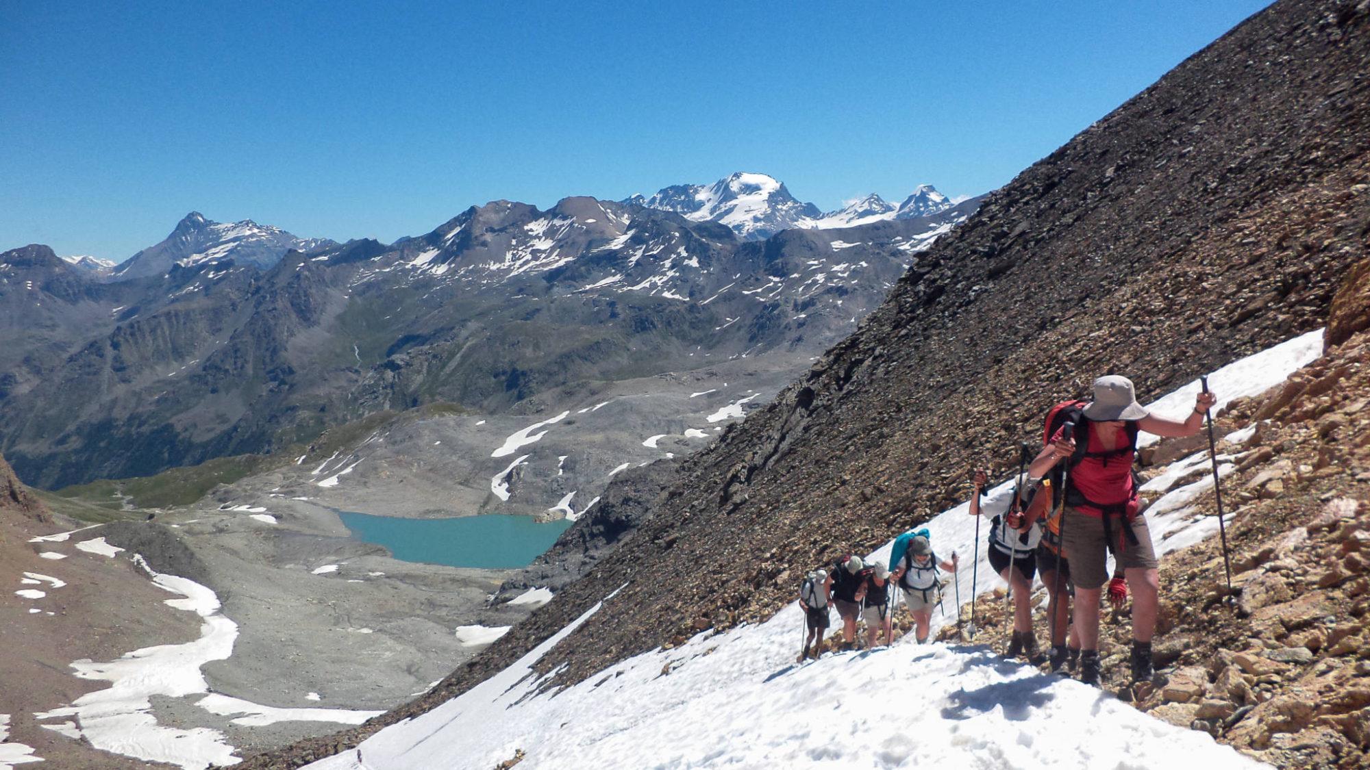 L'arrivée au Col Bassac Déré