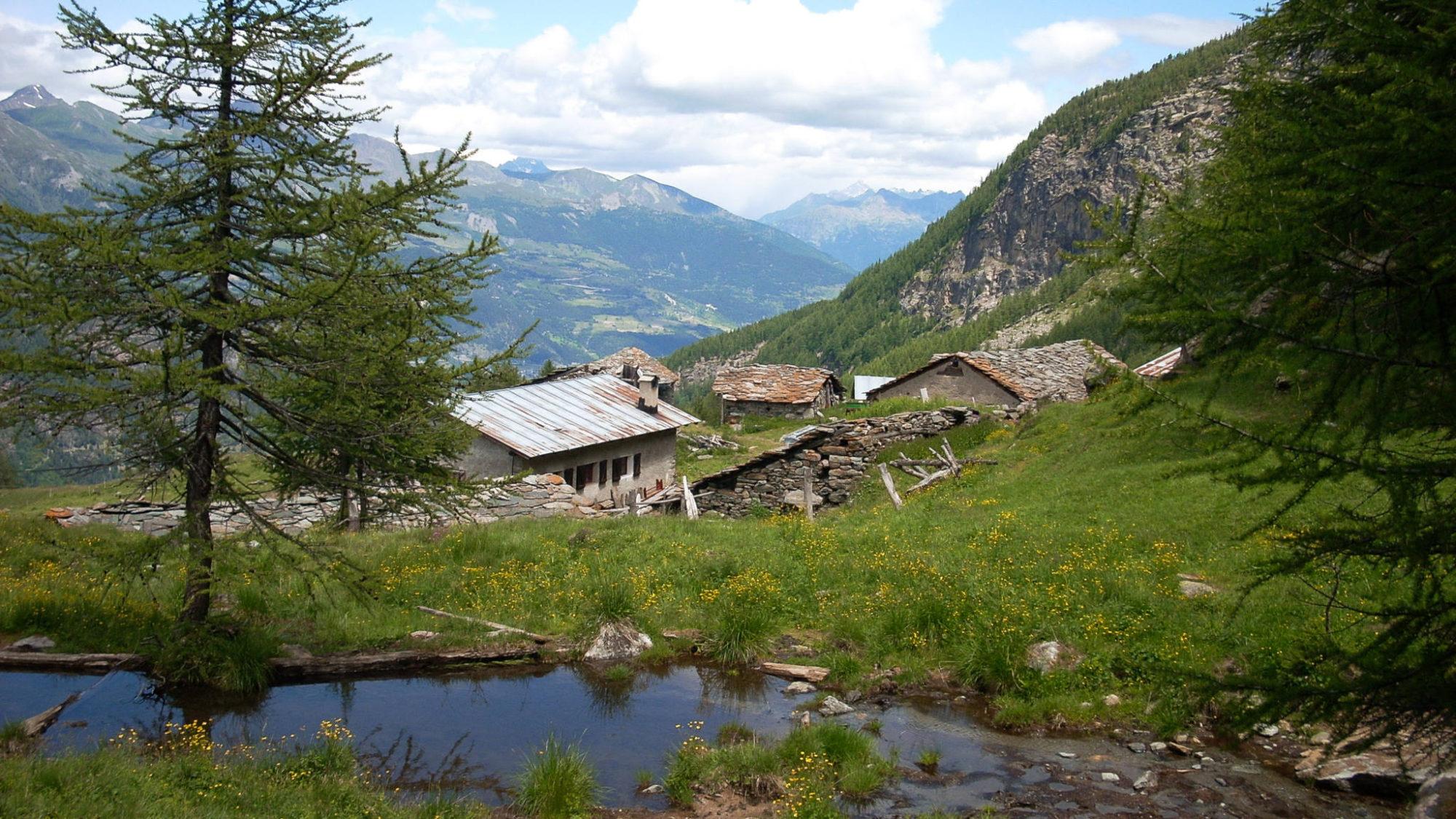 Chalet d'Alpage dans le Valgrisenche