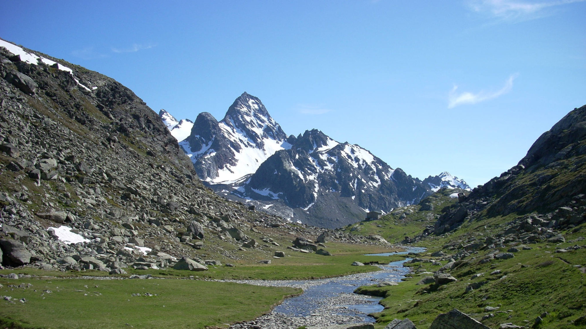 Les alpages du Ruitor vers le refuge Deffeyes