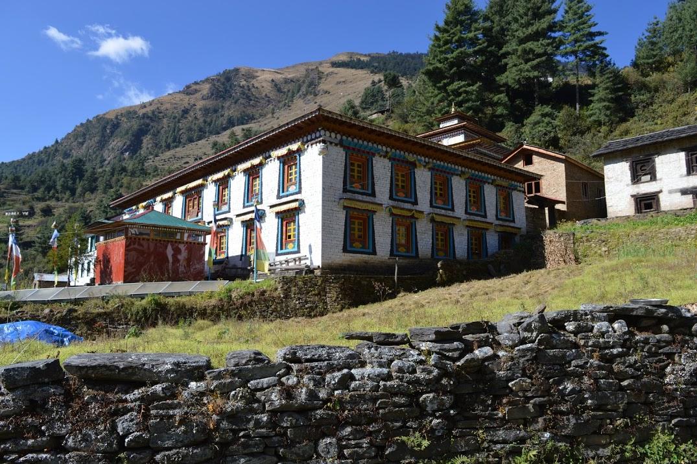 De nombreux monastères parsèment les vallées du Solu Khumbu, Népal