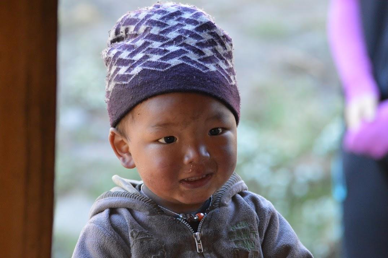 Rencontre avec un enfant du Solu Khumbu, Népal