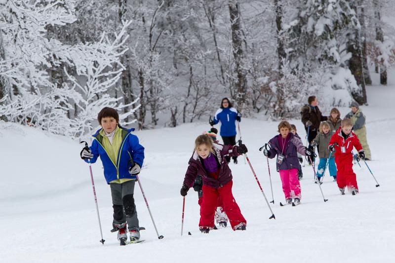 Initiation au ski de fond dans le Vercors