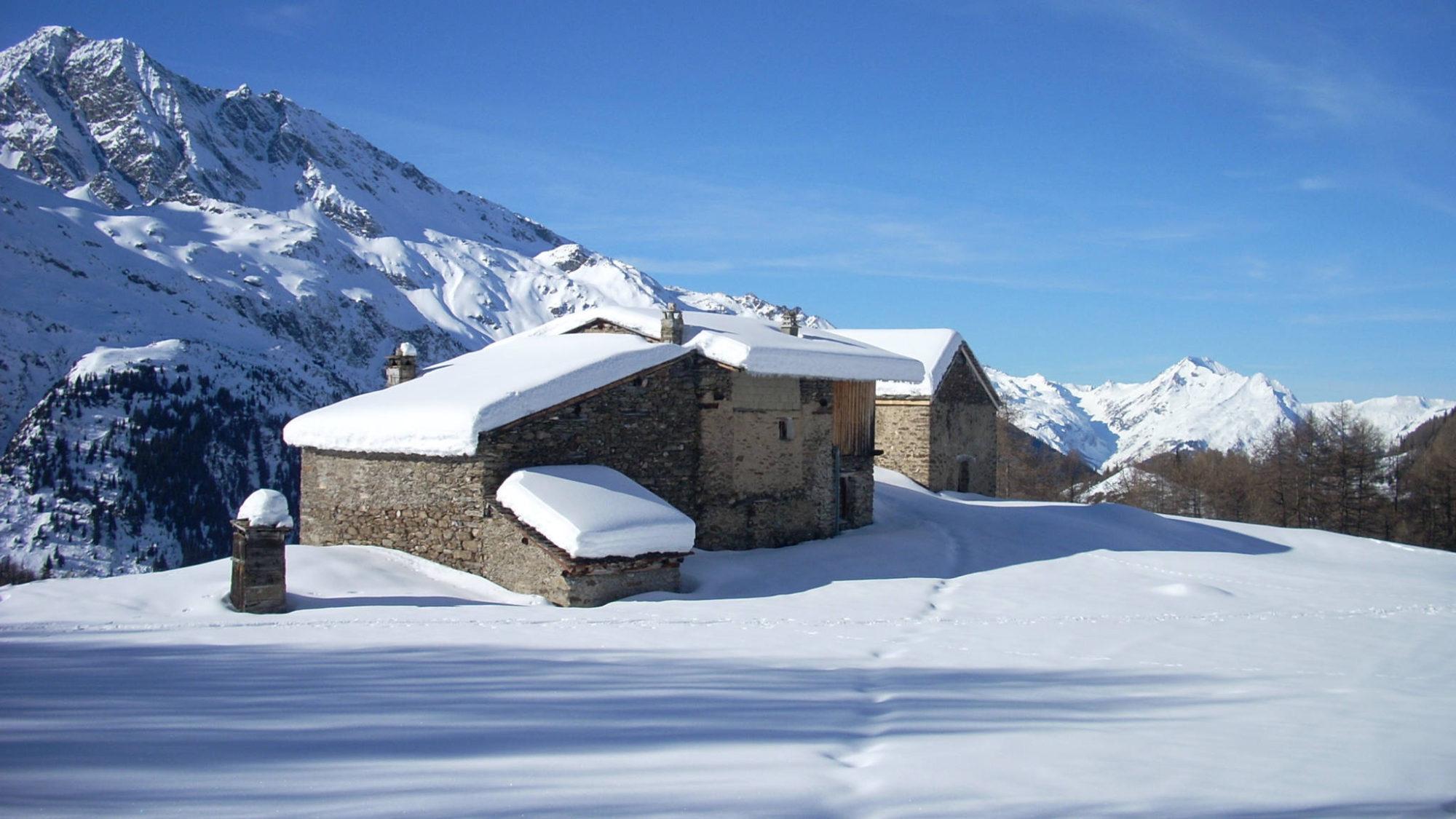 Le hameau du Fenil, sur le rebord du Monde !