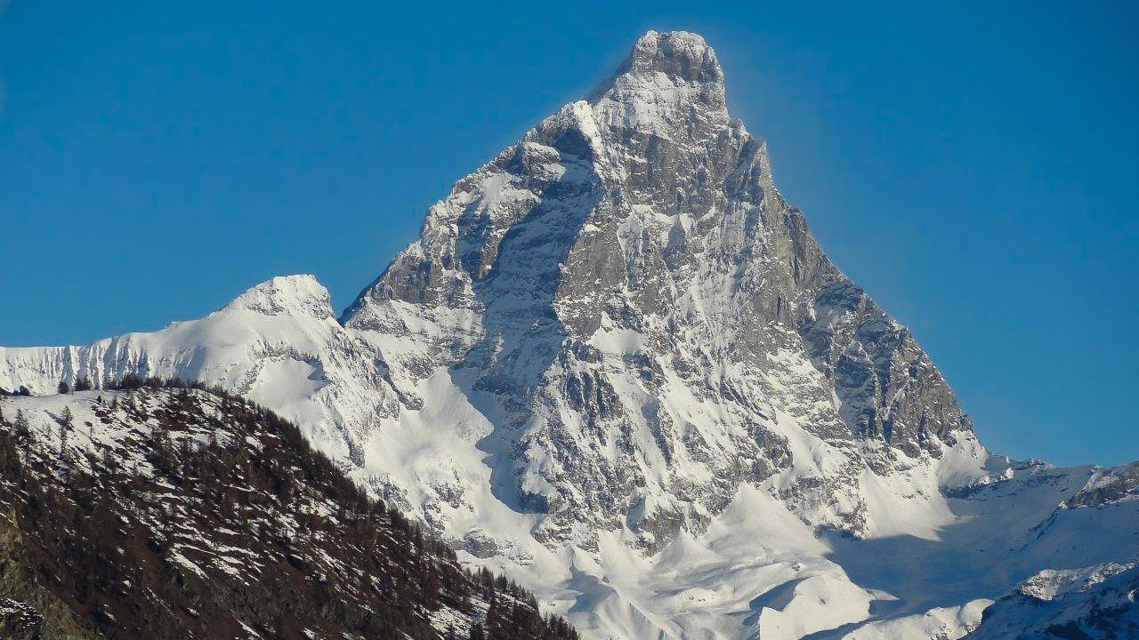 Le versant italien du Cervin, mythique sommet des Alpes !