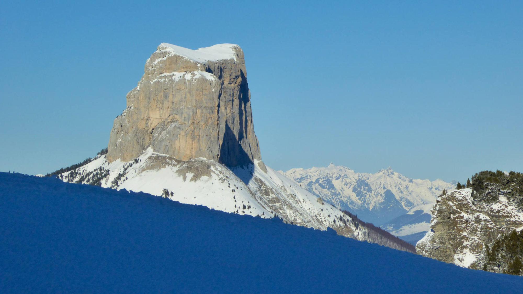 Mont-Aiguille; emblématique du Vercors...