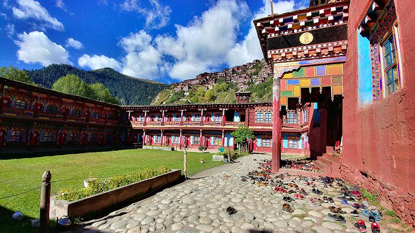 trek au Tibet oriental, royaume de Dergué