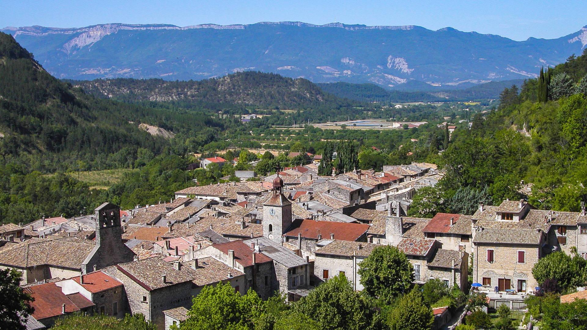 Châtillon en Diois, sur les pas des Huguenots