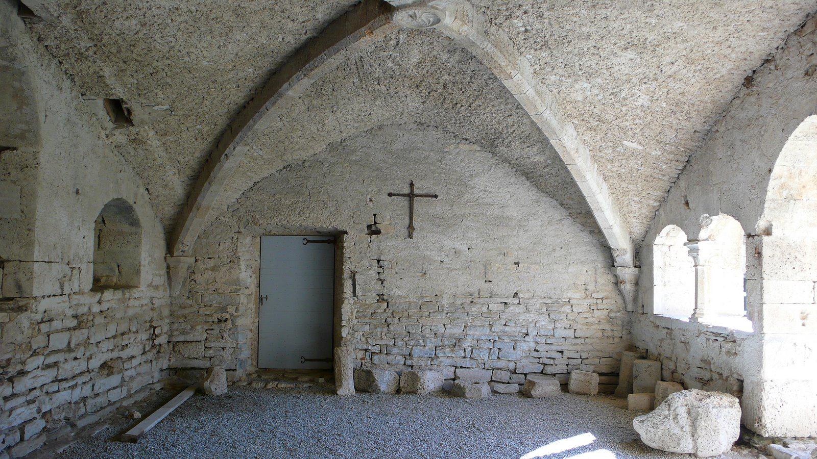 L'Abbaye cistercienne de Valcroissant fût aussi un refuge pour les Huguenots
