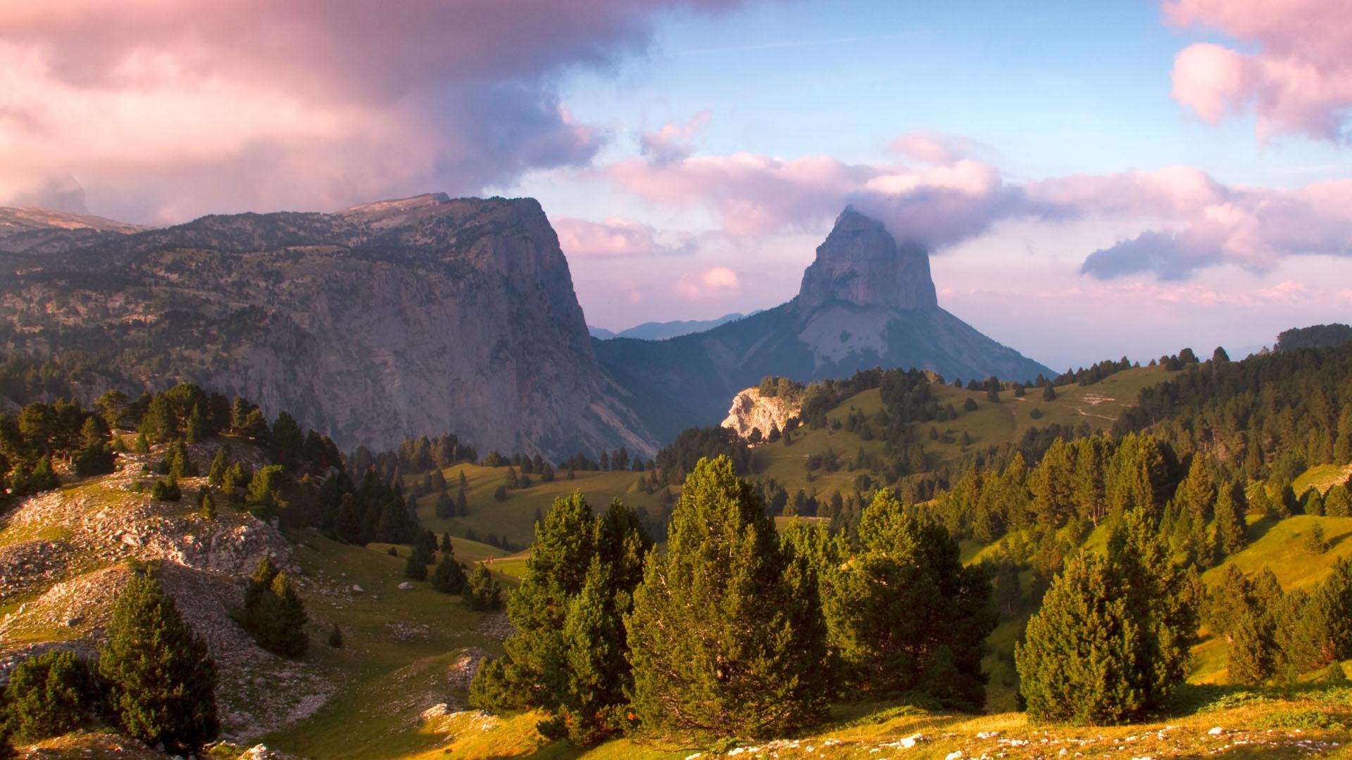 Mont Aiguille depuis Chaumailloux © Sandrine et Matt Booth