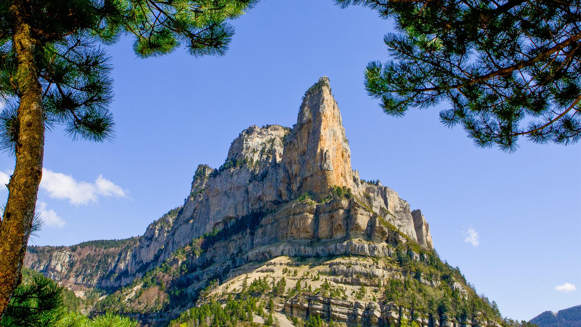 Le rocher de Combeau - Vercors