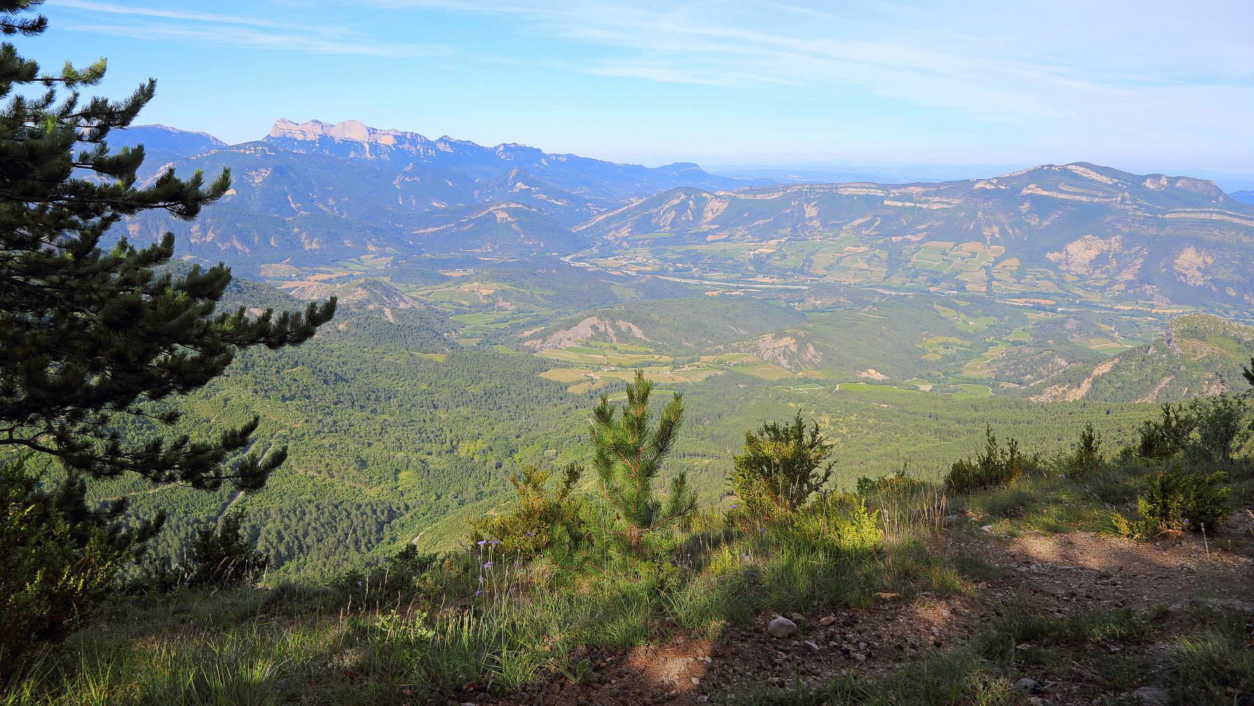 Vue panoramique sur les 3 becs
